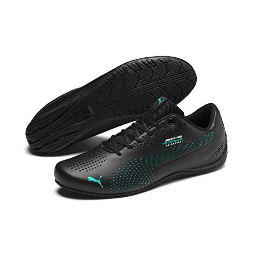 PUMA Mercedes AMG Petronas Drift Cat 5 Ultra II Trainers Puma Black Spectra Green 8.5