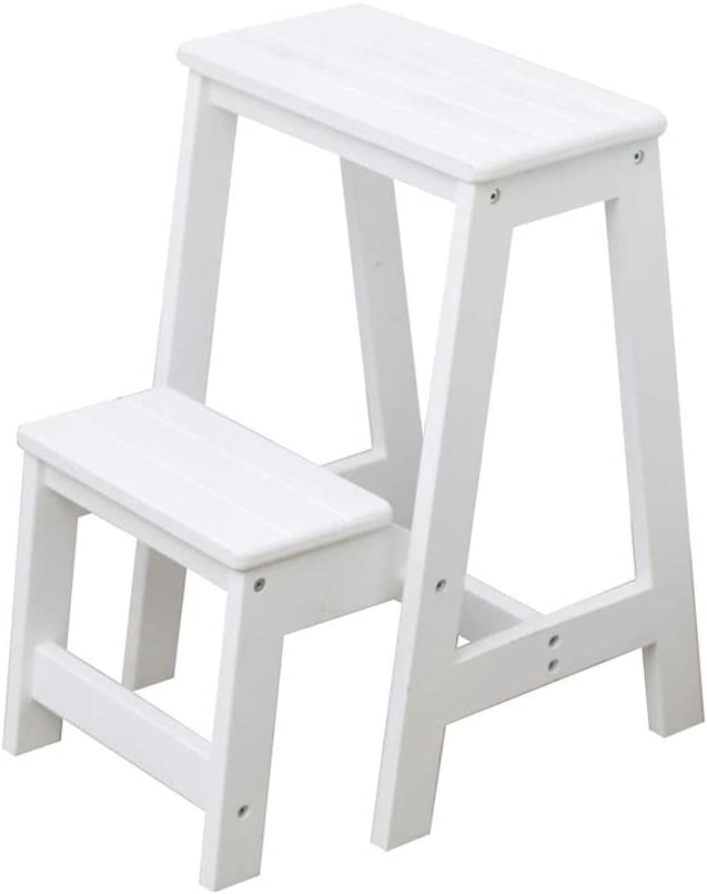 N C Limited price sale Multifunctional and Stylish Two-Step Non-Sli Cheap SALE Start Stool Wooden