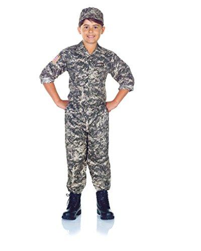 Children's Army Camo Set Costume