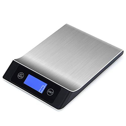 Erisl Digitale Schaal Van De Keuken Met Lade, 5 Kg / 10 Kg / 15 Kg, RVS Coffee Schalen Exacte Waarde 1g Voedsel Weegsysteem Voor Keuken Tool