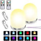 Ozvavzk Luz De Nocturna LED,Luz Nocturna Inteligente Recargable por USB Diseo Regulable Cambio de Color RGB para Habitación/Dormitorio/Sala/Garaje/Pasillos