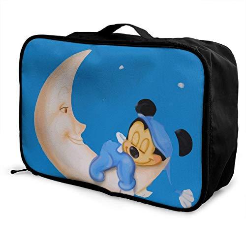 Travel Duffel Bag Baby Sleep Lightweight Large Capacity Portable Lage Bag Weekender Bag Overnight Carry-on Tote