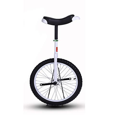 20/24 Pulgadas, Monociclo For Adultos Hombres Y Mujeres, Bici Ciclismo Monociclo, Bicicleta Equilibrio Ergonómico De La Bici con Una Silla, con Estrías Tija De Sillín, For El Deportes Al Aire Libre