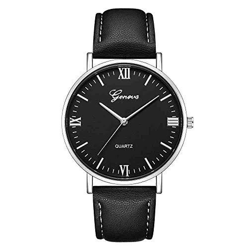 DSNGZ Reloj de Pulsera Reloj Hombre Geneva Classic Hot Luxury Mujer Reloj de Pulsera...