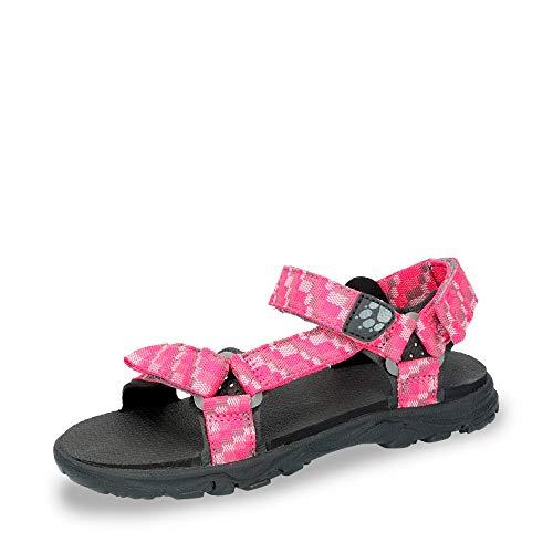 Jack Wolfskin Mädchen Seven SEAS 2 G Sport Sandalen, Pink (Tropic Pink 2145), 37 EU