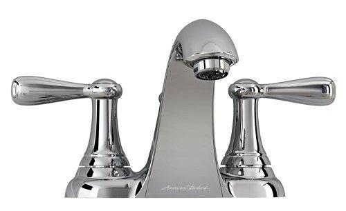 American Standard 7764F Bathroom Faucet, White