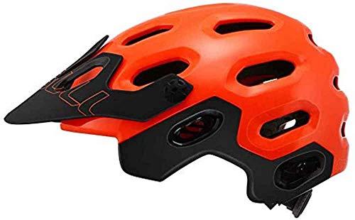 SNFHL Casco de Bicicleta de Carretera Ultraligero para Bicicleta de Montaña Casco de Bicicleta Ultraligero y Transpirable,Red-L