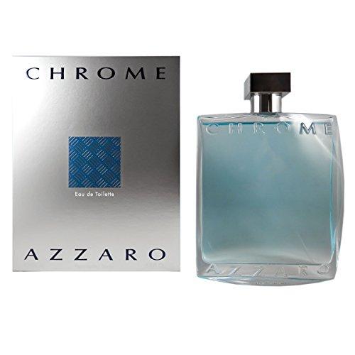 Azzaro Chrome Men Eau De Toilette Spray, 200 ml