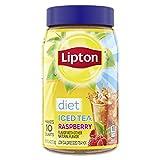 Lipton Diet Iced Tea Mix, Raspberry, 10 qt