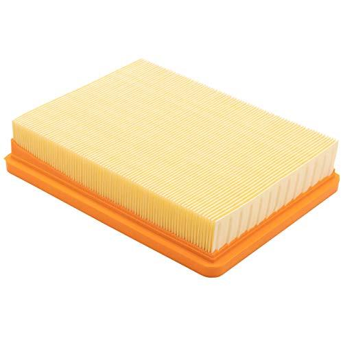 vhbw Flachfaltenfilter passend für Kärcher NT 501, NT 551, NT 700, NT 701, NT 702, NT 720 Staubsauger Modelle - Ersatz Filter für Kärcher 5.731-020.0