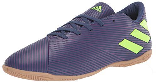 adidas Nemeziz Messi - Tenis de 19,4 cm para hombre, Azul (Índigo/Verde/Púrpura), 45.5 EU