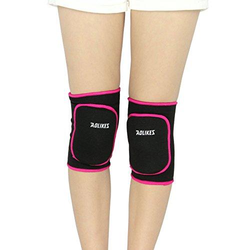 Rodilleras de niño, en algodón, caliente suave y transpirable para danza, Yoga, correr, deporte, etc. Unisex