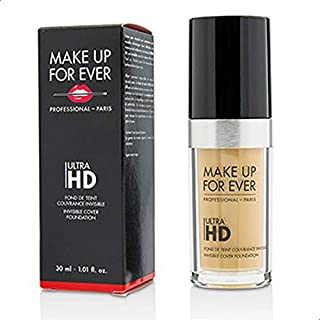 Make Up For Ever Ultra HD Invisible Cover Foundation Y255, Sand Beige(I000032255)