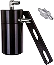Elite Engineering Standard PCV Oil Catch Can & Hardware with Nickel Hose Barb Fittings, Check Valve & Clamps for 2008-2013 Corvette LS3 - BLACK
