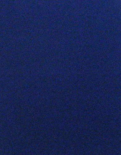 Selbstklebende Rückseite, A4 Blatt Samt Velours Craft DC Fix Vinyl Aufkleber blau