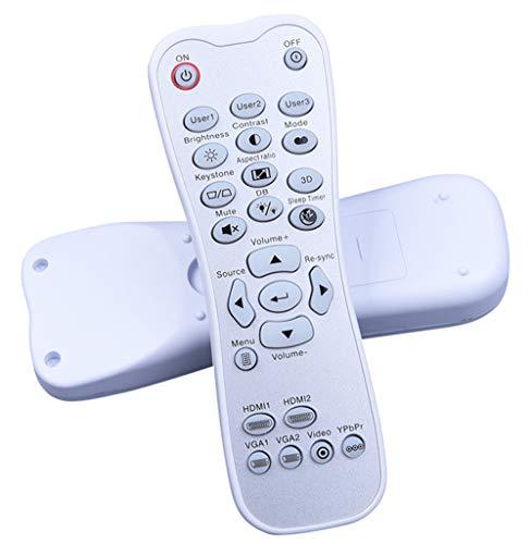 EWO'S Projector Remote Control for Optoma HD141X HD142X HD143X HD26 HD27 HD27E HD27HDR GT1080 GT1080HDR HD37 HDF536 HDF537ST EH200ST HD28DSE HD29Darbee HD39Darbee GT1080Darbee UHD60 UHD50 40 Projector