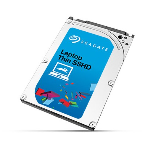 SEAGATE Laptop Thin SSHD 500GB 5400rpm SATA Self-Encrypting FIPS 6Gb/s NCQ 64MB Cache 6,4cm 2,5Zoll Solid State Hybrid Drive BLK