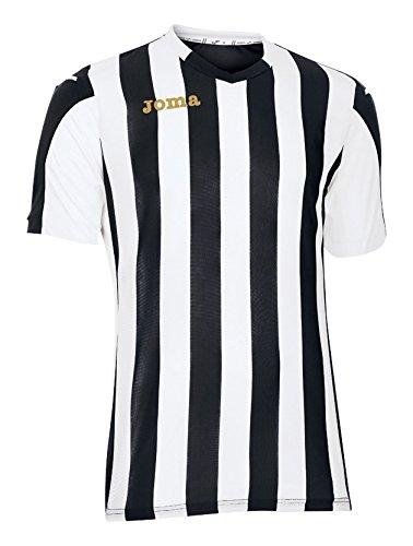 Joma Herren Trikot Kurzarm 100001.100, mehrfarbig-(Negro-Blanco), XS