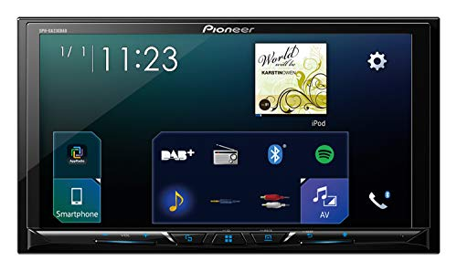 Pioneer SPH-DA230DAB 2DINAutoradio , 7 Zoll Clear-Resistive-Touchpanel , Bluetooth , DAB+ Digitalradio , Apple CarPlay / Android Auto