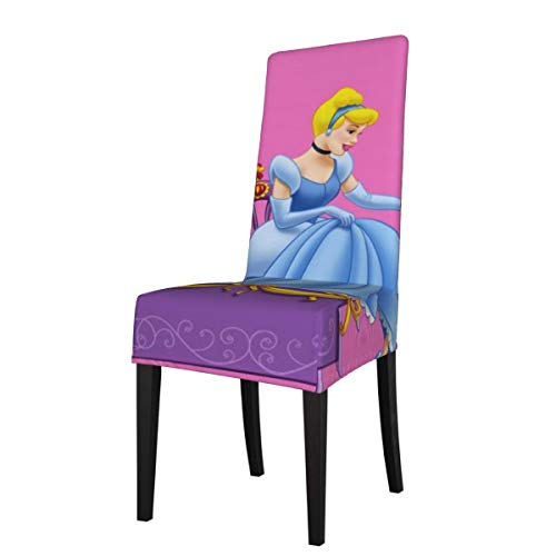 TEIJWETEIJT Cinderella Chair Cover Armless Soft Removable Washable High Elasticity Dining Chair Covers, Apply to Dining Room, Wedding, Ceremony, Banquet, Home Restaurant Decor