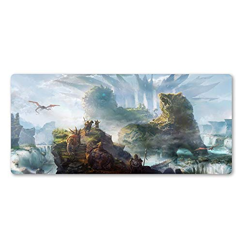 Alfombrilla de ratón personalizada, práctica y her Cool Gaming Mouse Pad Natural Caucho Lavable Lavable Sin resbalón Mouse Pad More Professional Office Office Keyboard Mouse Pad ( Size : 600x300x2mm )