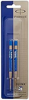 Parker Quink Gel Ink Refills for Retractable Pens, Medium Point, Blue(30526PP) (4-Pack of 2)