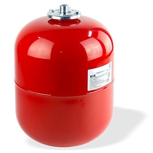 Stabilo-Sanitaer Ausdehnungsgefäß 24L 24 Liter Ausgleichsbehälter rot Heizung Druckausdehnungsgefäß