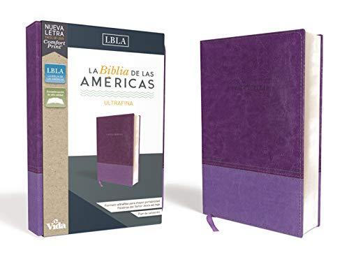 Compare Textbook Prices for LBLA Santa Biblia Ultrafina, Leathersoft, Lavanda Spanish Edition  ISBN 9780829769654 by La Biblia de las Américas  LBLA