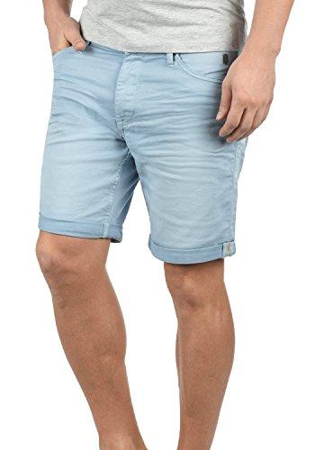 Blend Diego Herren Jeans Shorts Kurze Denim Hose Aus Stretch-Material Slim Fit, Größe:L, Farbe:Soft Blue (74641)