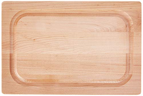 John Boos Block 209 Chop-N-Slice Maple Wood Edge Grain Reversible Cutting Board with Deep Juice Groove 18 Inches x 12 Inches x 1 Inches