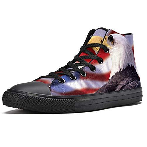 LORVIES - Zapatillas deportivas con cabeza blanca para hombre, (multicolor), 40 EU