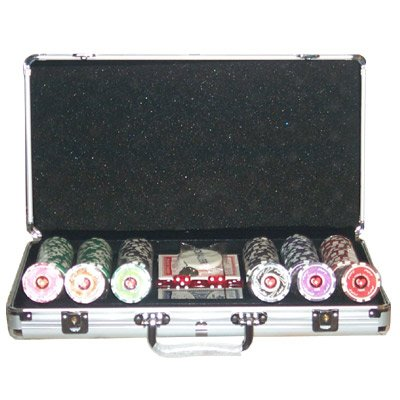 Set completo 300 Fiches Private Poker Tournament