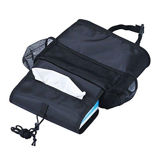 Suspension de Organiseur pour dossier de siège de voiture type Heat-protecting Sac de rangement (boîte à mouchoirs)