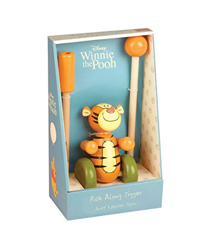 Orange Tree Toys Disney Tigger Winnie l'ourson Poussoir
