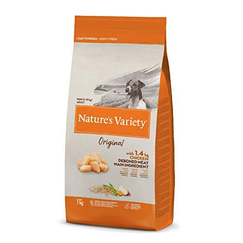 Nature's Variety Original - Pienso para perros adultos mini con pollo deshuesado 7 Kg