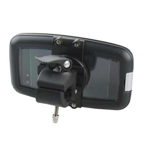 Armor-X ArmorCase - Funda con sistema de montaje en manillar para iPhone 5, 4, 4s, 3G, 3Gs, 2G y iPod touch (sumergible hasta 1 m), color negro