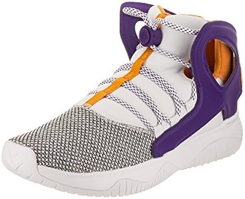 Nike Men& 039;s Air Flight Huarache Ultra Weiß Court lila Canyon Gold Basketball schuhe 9 Men US