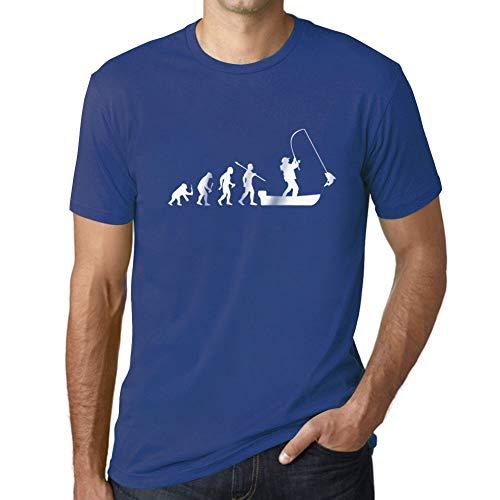 Ultrabasic Camiseta para Hombre Evolución de la Barco Pesca - Pescador -...