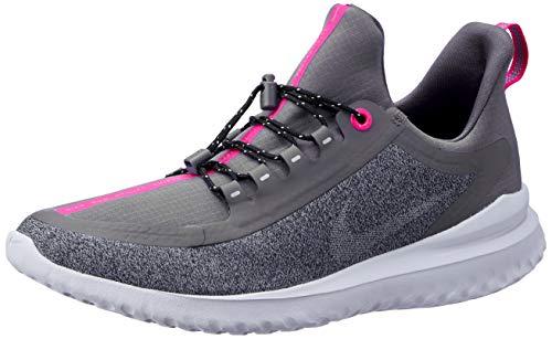 Nike Unisex-Kinder Mädchen Renew Rival Shield GG Laufschuhe, Blau (Diffused Blue/Metallic Silver 400), 38 EU