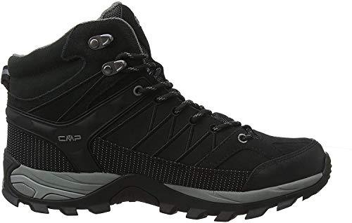 CMP Herren Rigel Mid Shoe Wp Trekking- & Wanderstiefel, Schwarz (Negro-Grey 73uc), 41 EU
