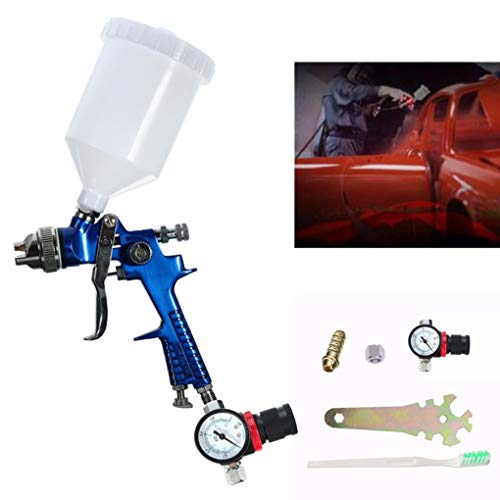 Yongse 600CC 1.4mm HVLP Air Spray Gun Tool Automotive Shop Schildergereedschap met Gauge