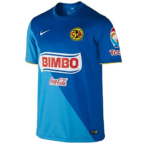 Nike Club America 3rd Soccer Jersey, Blue (Small)