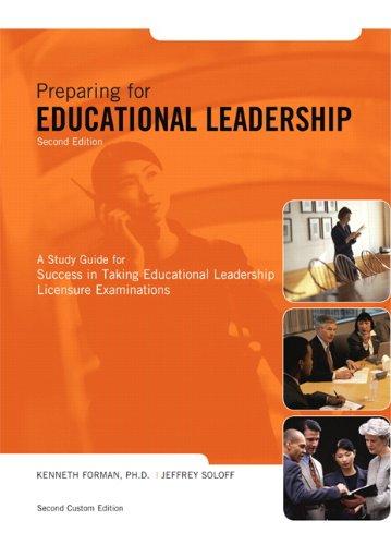 Preparing for Educational Leadership (2nd Edition)