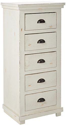 Progressive Furniture Willow, Distressed White