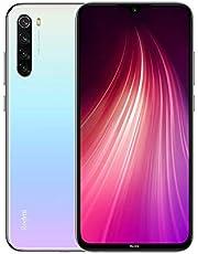 Xiaomi Redmi Note 8 Smartphone 4GB RAM 64GB ROM 4000mAh batterij met hoge capaciteit Wit