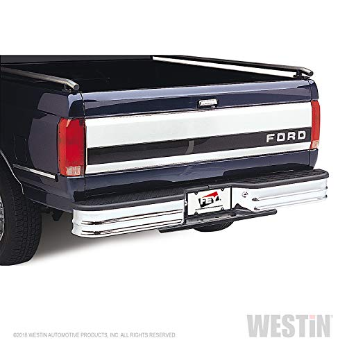 Fey 21007 SureStep Deluxe Universal Chrome Replacement Rear Bumper (Requires Fey vehicle specific mounting kit sold separately)
