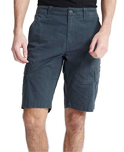 Superdry Mens CORE Cargo Shorts, Midnight Navy, 29