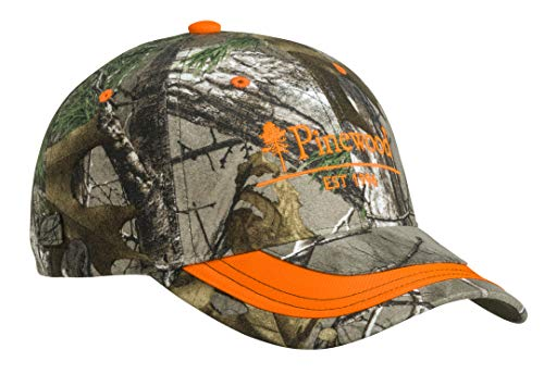 NEU Pinewood 2-Color Camou Cap Jagdkappe Orange und Realtree - Limited Edition Drückjagd Cap