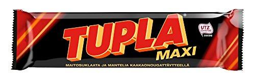 4 Bars x 50g of Leaf Tupla Maxi - Original - Finnish - Milk Chocolate