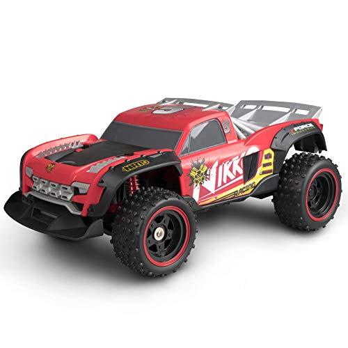 NIKKO Pro Trucks - Bestuurbare Auto Voor Kinderen - 14 Km/h - Voor Binnen En Buiten - NIKKO Racing #5, Rood
